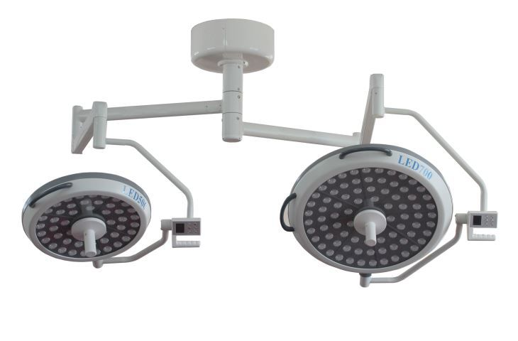 Ceiling Mounted Surgical Lighting System for Human Tissue